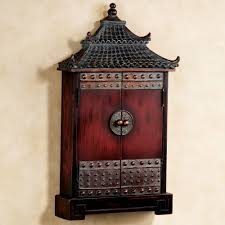 Asian themed wall clock