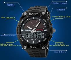 aliexpress com buy 2016 new solid watches men clock resin atomic aliexpress com buy 2016 new solid watches men clock resin atomic solar sports watch 2 time zone digital led quartz men wristwatches military watch from