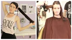 Hair Style Before And After long to short haircut before & after youtube 5818 by wearticles.com