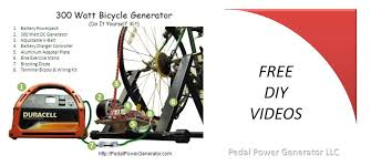 free diy byo s for building your own bike generator