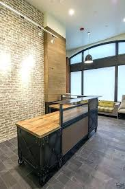 industrial reception desk like this item industrial reception desk reception desk design industrial reception desk like reception desks
