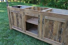 diy pallet vanity build your own rustic furniture
