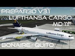 Sequ Airport Charts Prepar3d V3 1 Ivao Lufthansa Cargo Md 11f Bonaire Tncb