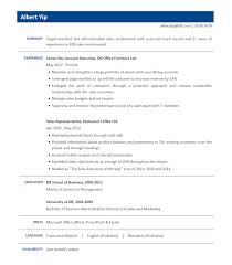 Resume Sample Hk Sample Resume Sales jobsDB Hong Kong 1