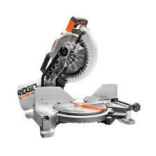 ridgid miter saw table. ridgid 15 amp 10 in. dual bevel miter saw with laser ridgid table