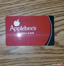 applebee s gift card 25