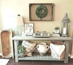 Image Round Console Table Decor Ideas Sofa Impressive Farmhouse With Best Entryway Maker House Source Online Console Table Decor Ideas Maker House Source Online