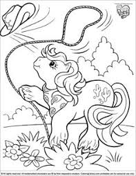 my little pony coloring page old my little pony my