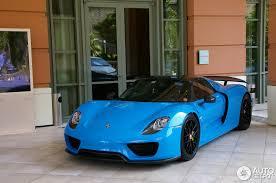 porsche 918 spyder blue. porsche 918 spyder registry blue