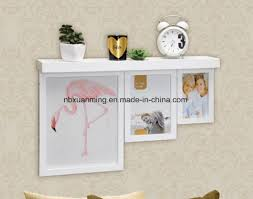 china wooden frame wall shelf wooden