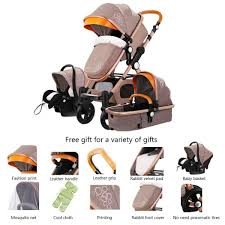 presyo ng 3 in 1 baby stroller high landscape stroller folding carriage baby cart newborn stroller leather stroller sa pilipinas
