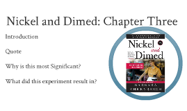 summary of nickel and dimed by barbara ehrenreich nickel and dimed essay summary