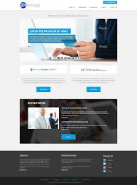 Financial Institutions Website Design The Website Is Basically For A Financial Service Provider