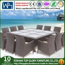 well furniture 13 piece outdoor patio dining set with cushions tg 1271