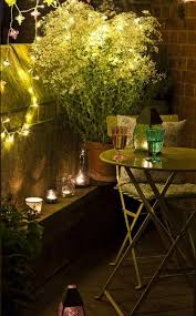 balcony lighting decorating ideas. Small Balcony Design Ideas. Add Some Moody Lighting For A More Romantic Feel. Decorating Ideas