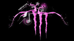 pink monster energy logo wallpaper. Exellent Logo Pix For U003e Monster Energy Pink Background On Logo Wallpaper Cave
