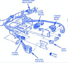 chevrolet corvette 1984 electrical circuit wiring diagram carfusebox 1984 Mercury Escort Fuse Box Outline chevrolet corvette 1984 electrical circuit wiring diagram 1984 Ford Cars