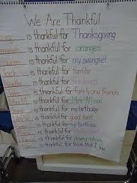 Predictable Charts Kindergarten Love Predictable Charts Kindergarten Writing Thanksgiving