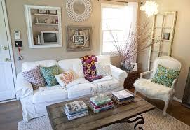 Shabby Chic Bedroom Wallpaper Cottage Bedroom Decor Square Cotton Cushion Cover Blue Platform