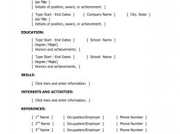 Resume With Accents Resume For Study