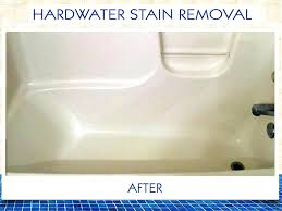 tub resurfacing only today bathtub stain remover fiberglass rust removal
