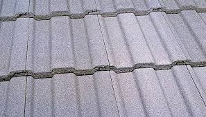 french roof tile concrete embossed large