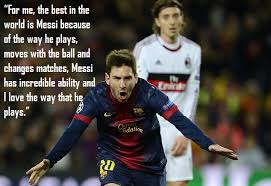 Messi Quotes Beauteous Top 48 Quotes On Lionel Messi