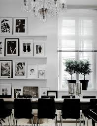 black and white office. Room Black And White Office H