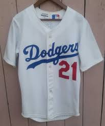 authentic los angeles dodgers sand knit mlb baseball jersey usa atletica