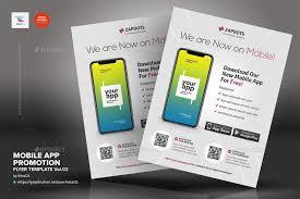Design Flyer App Mobile App Promotion Flyers Vol 02