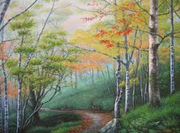 oil paintings from deer landscape oil painting landscape oil