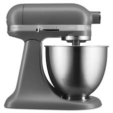 kitchenaid artisan mini stand mixer ksm3311x matte grey