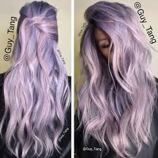 Light Purple And Silver Hair Lilac Lavender Hair Hair In 2019 Hair Color Lavender