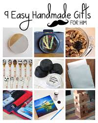 9 Easy Handmade Gifts For Him