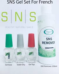 sns gel set for sns pink white pink white powder kit 250ml sns remover included