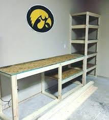 Garage Workbench Plans And Patterns Delectable Garage Workbench Plans And Patterns Building A Garage Workbench