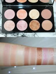 revolution golden sugar 2 rose gold blush palette pinkparadisebeauty spot