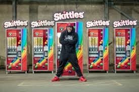 Skittles Vending Machine Stunning Marshawn Lynch Sets Skittles Giveaway For Raiders Home Opener