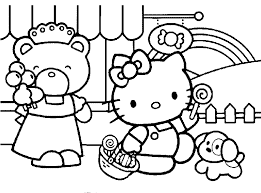Small Picture Halloween Coloring Pages For 10 Year Olds Hello Kitty Halloween