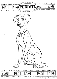 disney 101 dalmatians colouring pages colouring books to print disney printable pages colour in sheets of dogs and puppies