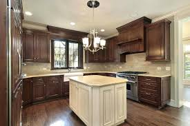 kitchens with dark brown cabinets. Black And Brown Kitchen Cabinets New Colors With Dark Wainscoting Kitchens . E