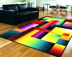 colourful area rugs colorful rug for living room inspirational contemporary with playrooms