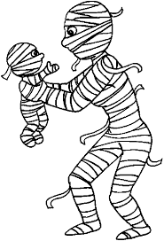 Small Picture Easy Mummy Coloring Page Coloring Coloring Pages