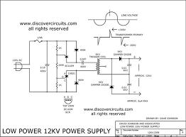 schematic wiring diagram 12kv high voltage generator 12kv high voltage generator