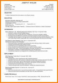Resume Template Student College 8 Cv Sample For College Students Theorynpractice