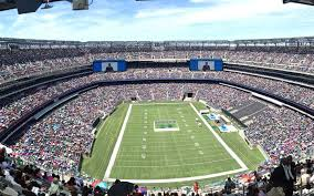 Ny Giants Seating Chart With Rows Metlife Stadium Seating Chart Seatgeek