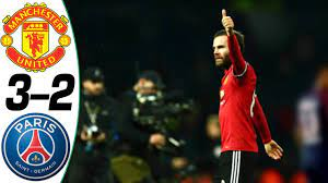 Manchester United vs PSG 3-2 - All Goals & Highlights Résumé & Goles (Last  Matches) HD - YouTube