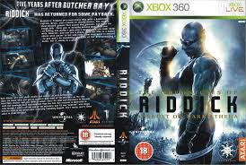 XBOX 360 The Chronicles of Riddick Assault on Dark Athena Red