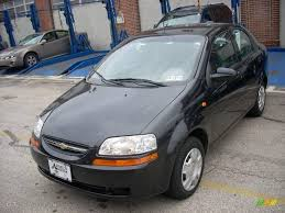2004 Black Chevrolet Aveo Sedan #24436644 | GTCarLot.com - Car ...