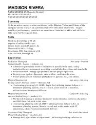 Counseling Resume Adorable Best Lead Radiation Therapist Resumes ResumeHelp
